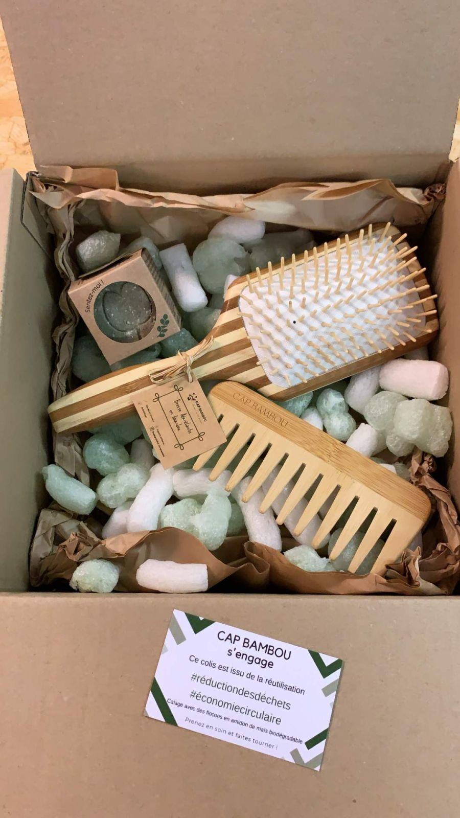 box on hair